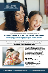 Property and Casualty Insurance for Social and Human Service Organizations