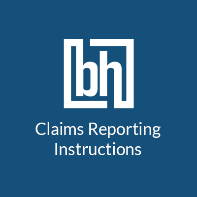 Berkshire Hathaway Specialty Insurance Claims Reporting Instructions