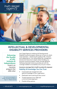 Property and Casualty Insurance for Developmental Disability Service Providers